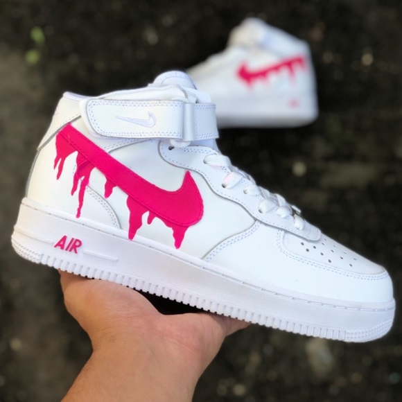 Nike Shoes Custom Drip Air Force 1 Mid Poshmark